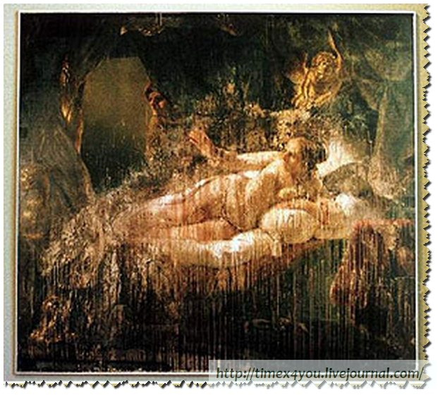 "Rabble Rousing Fool - Rembrandt's ""Danae"" painted in 1636"